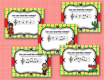 Cinco de Mayo Melodies! Interactive Melodic BUNDLE of 5 GAMES!