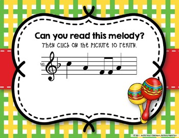 Cinco de Mayo Melodies! Interactive Melodic Practice Game - Do