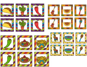 Cinco de Mayo  Memory Game Activity