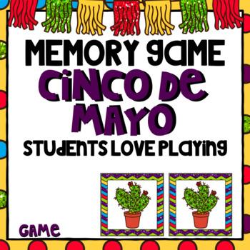 Cinco de Mayo  Memory Game Activity