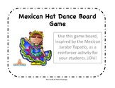Cinco de Mayo Mexican Hat Dance Open-Ended Board Game