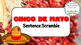 Cinco de Mayo Sentence Scramble Grammar Syntax (22 Sentences, Worksheet)
