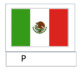 Cinco de Mayo Mexican flag letter work