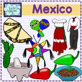 Mexico Clip art {Social Studies Clipart}