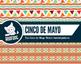 Cinco de Mayo Mexico fiesta themed digital paper patterns