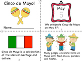 Cinco de Mayo Mini Book and Coloring Pages