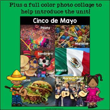 Cinco de Mayo Mini Book for Early Readers