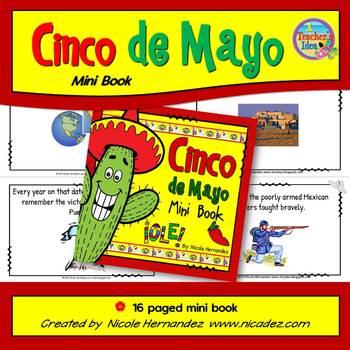 Cinco de Mayo Mini Book