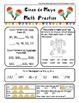 Cinco de Mayo Morning Work Packet ELA and Math w/ photo ac