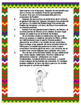 Cinco de Mayo Passage in Spanish