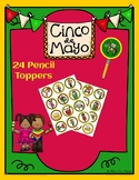 Cinco de Mayo Pencil Toppers