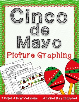 Cinco de Mayo : Picture Count and Graph It Activity