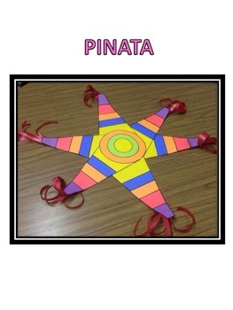 Cinco de Mayo Pinata Paper Craft