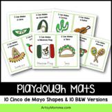 Cinco de Mayo Playdough Mats