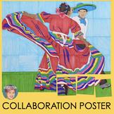 Collaborative Poster | Festive Cinco de Mayo or Hispanic Heritage Month Activity