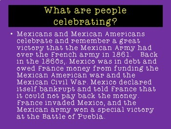 Cinco de Mayo PowerPoint Activity