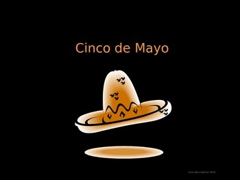 Cinco de Mayo PowerPoint and Reading/Writing Activity