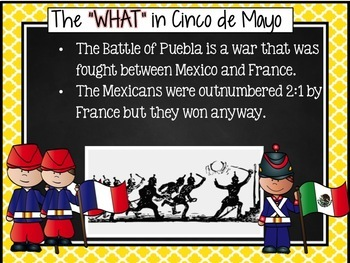 Cinco de Mayo Powerpoint and Sticker Activity Guide Mexico Culture Bundle