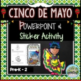 Cinco de Mayo Powerpoint and Sticker Activity Guide Mexico