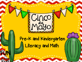 Cinco de Mayo Pre-K and Kindergarten Literacy and Math Activities