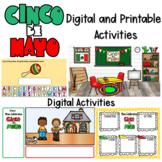 Cinco de Mayo Printable and Digital Activities