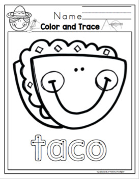 Cinco de Mayo Printable for Toddlers