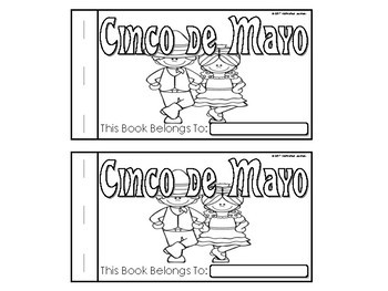 Cinco de Mayo Emergent Reader, Cinco de Mayo Activities