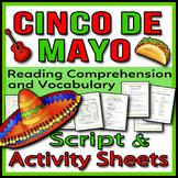 Cinco de Mayo - Readers Theater Holiday Script, Reading &
