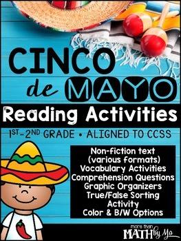 Cinco de Mayo Reading Activities {Non-Fiction Unit}