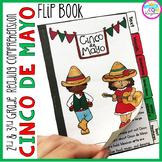 Cinco de Mayo Reading Comprehension Flip Book Activities- 2nd & 3rd grade