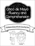 Cinco de Mayo Reading Comprehension, Fluency, and Center A