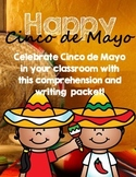 Cinco de Mayo Reading Comprehension and Writing Pack- Cinco de Mouse-O!