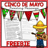 Cinco de Mayo Reading Passage FREE