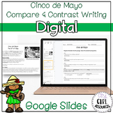 Cinco de Mayo Reading Passage with Writing for Google | Di