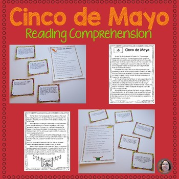 Cinco de Mayo English reading comprehension activity