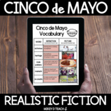 Cinco de Mayo Realistic Fiction DIGITAL Reading Activities |  Distance Learning