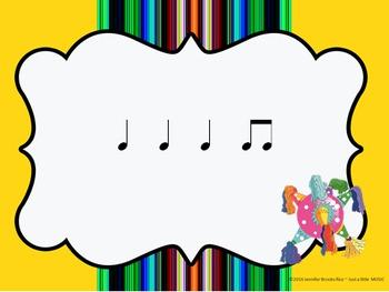 Cinco de Mayo--Rhythm Reading Practice Interactive Game {ta titi}