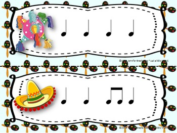 "Cinco de Mayo--Rhythm Reading ""Write the Room"" {ta titi}"
