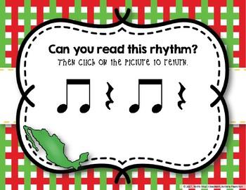 Cinco de Mayo Rhythms! Interactive Rhythm Practice Game - Ta Rest