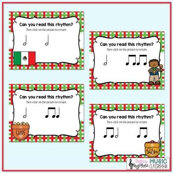 Cinco de Mayo Rhythms! Interactive Rhythm Practice Game - Ta-a