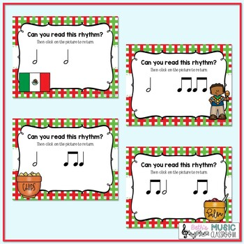 Cinco de Mayo Rhythms! Interactive Rhythm Practice Game - Ta-a