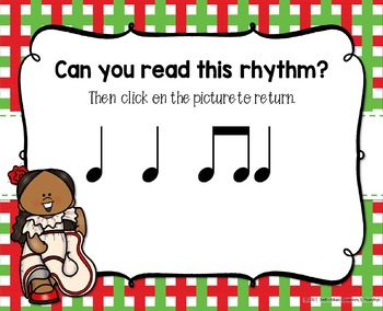 Cinco de Mayo Rhythms! Interactive Rhythm Practice Game - Ta and Ti-ti