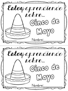 Cinco de Mayo SPANISH VERSION | 44 Pages for Differentiated Learning