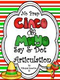 Cinco de Mayo Say & Dot Articulation