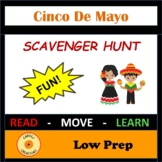 Cinco de Mayo Activity Scavenger Hunt