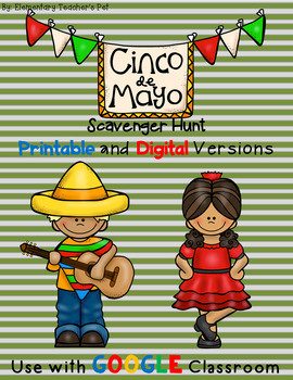 Cinco de Mayo-Scavenger Hunt