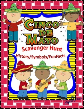 Cinco de Mayo Scavenger Hunt - History & Funfacts