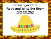 Cinco de Mayo- Scavenger Hunt- Read and Write The Room- Grades 4-7