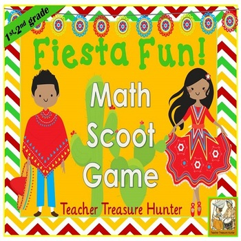 Cinco de Mayo Scoot game *addition & subtraction TRUE or FALSE?