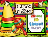 Cinco de Mayo Shapes - 2D and 3D